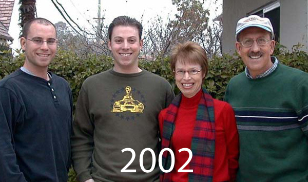 Leuten Family Pictures over the years 2002 to 2018